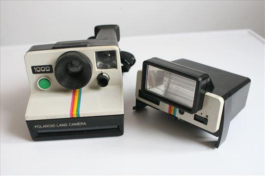 Polaroid 1000 sa blicem Polatronic 1