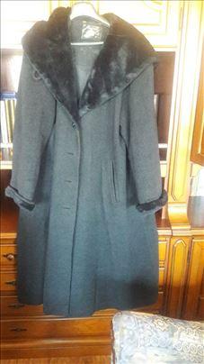 XXL ženski kaput pelerina