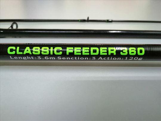 Feeder 3.6m classic carbon Fider