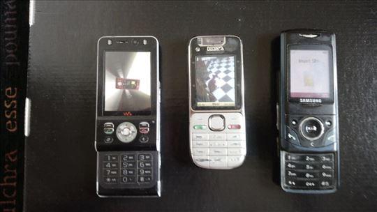 Komplet Nokia, Samsung i Soni Erikson