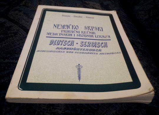 Nemacko-Srpski Recnik Medicinskih Izraza