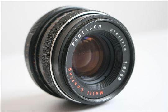Pentacon electric 1.8/50 Multi Coating na M42