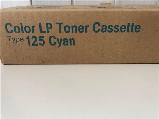 Color LP Toner Cassette Typ 125 cyan