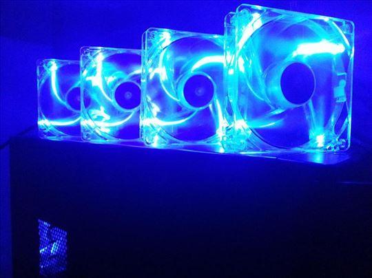 Sharkoon kuleri 120mm - LED blue