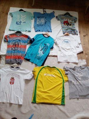 Majice raznih velicina