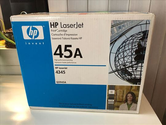 Toner HP Q5945A, 45A, novo, uvoz CH