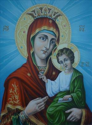 Pravoslavne ikone - ulje na platnu