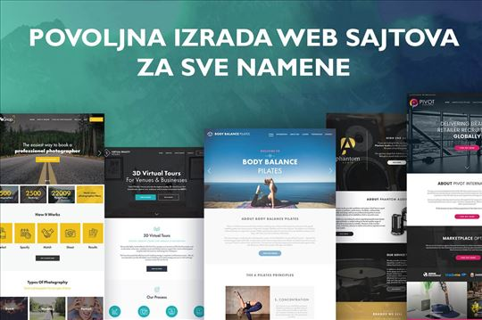 Izrada modernih web sajtova