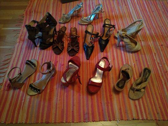 Kožne markirane sandale