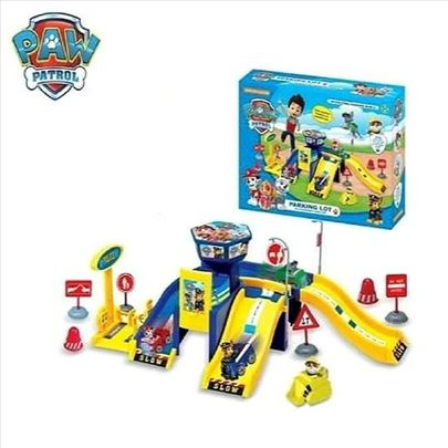 Patrolne šape parking garaža Paw patrol