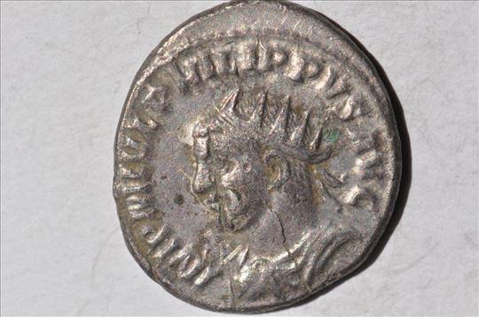 Rim antoninian cara Filipa II