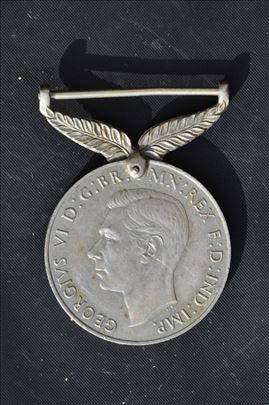 Medalja za  sluzbu u Drugom svetskom ratu N Zeland