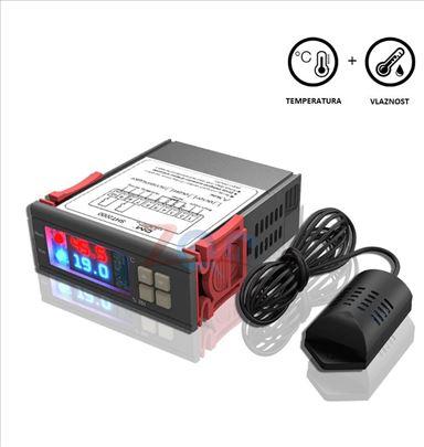 Digitalni termostat i kontroler vlage SHT2000