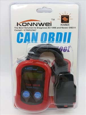 Dijagnostika za auto KW805 Auto dijagnostika KONNW