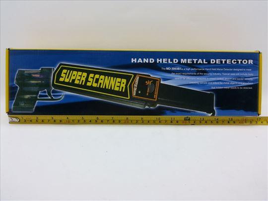 Detektor metala, akcija