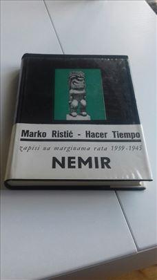 Marko Ristić, Hacer Tiempo, Nemir, glanc nova