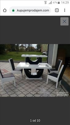 Trepezarijski stolovi od medijapana