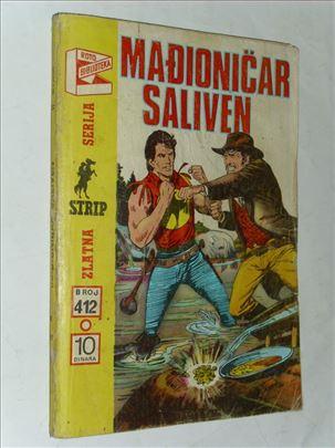 Mađioničar Saliven-Zagor-Zlatna serija br. 412