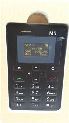 Telefon kartica AEKU M5 Telefon Mini telefon