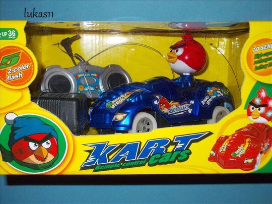 Angry birds auto sa punjivom baterijom (