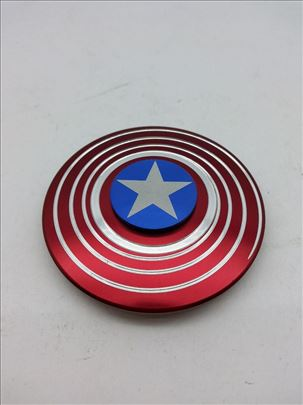 Hand Spinner/Fidget Spinner Captain America Shield