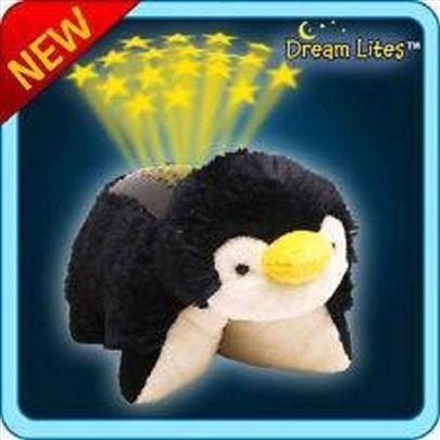 Svetleci jastuk/lampa zvezdani pingvin akcija