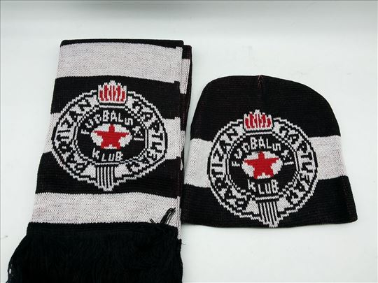 Šal i kapa Partizan novo-Šal i kapa Partizan