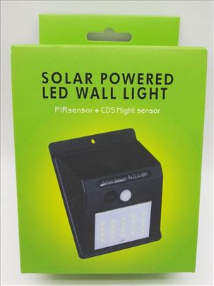 Solarna lampa/svetlo sa senzorom pokreta dan