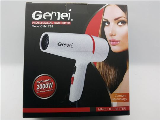 Fen za kosu Gemei GM-1738, akcija