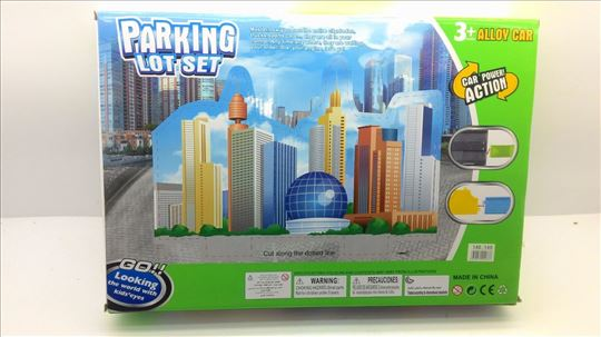 Parking garaža dečija razonoda