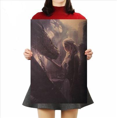 Poster Game of thrones Igra prestola