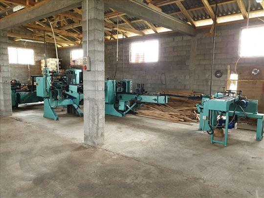 Automatska linija za proizvodnju drvene ambalaže