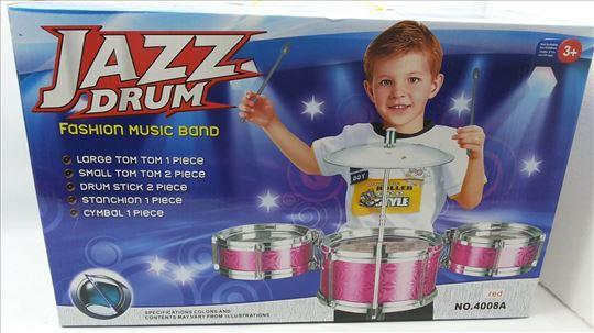 Bubnjevi, dečji, akcija