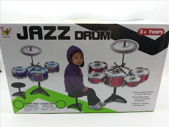 Bubnjevi dečiji set od 3 kom, novi