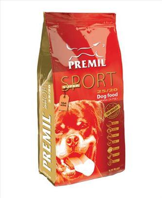 Hrana za pse Premil Super Sport, pakovanje 1kg