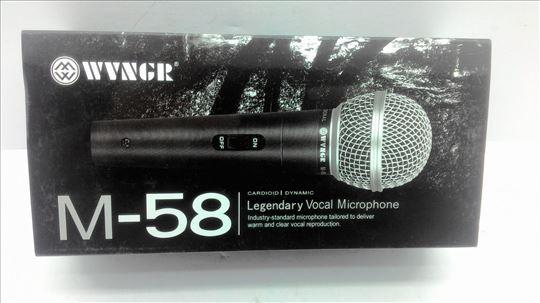 Mikrofon, nov, odličan i težak