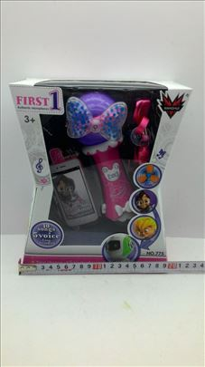 Mikrofon za male devojčice