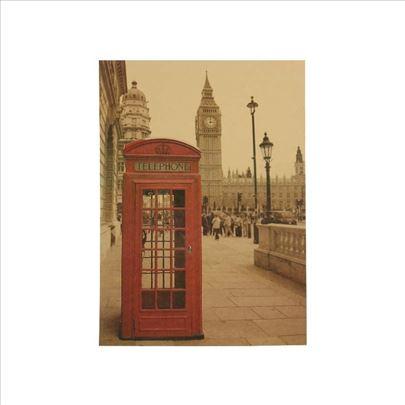 Poster London govornica i Big ben