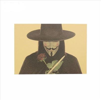 Poster V for Vendeta