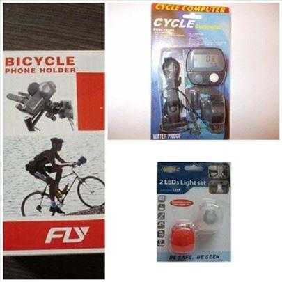 Bicikl set treptači, brzinomer, NosacMob