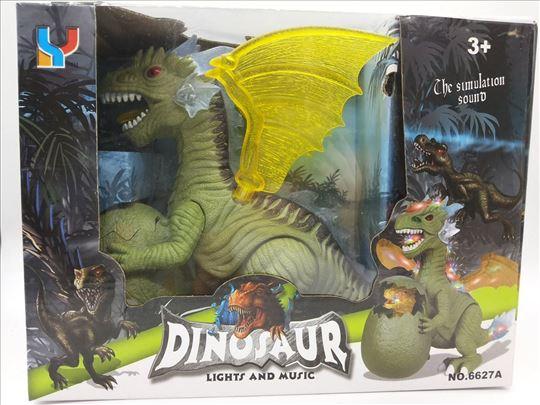 Dinosaurus T-Rex igračka na baterije, nova