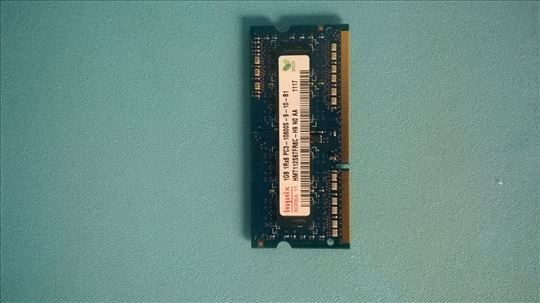 Hynix 1GB 1Rx8 PC3 10600S 9 10 B1, Laptop Memory