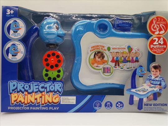 Projektor igračka na baterije za dečake