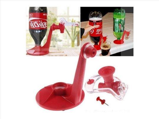 Točilica za Coca-colu plastična crvena
