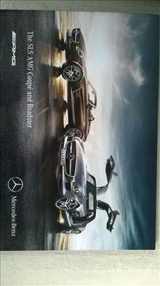 Prospekt Mercedes SLS Coupe &Roadster AMG,100 str.