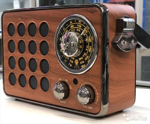 Retro radio Usb/Fm/Bluetooth/SD/Mp3