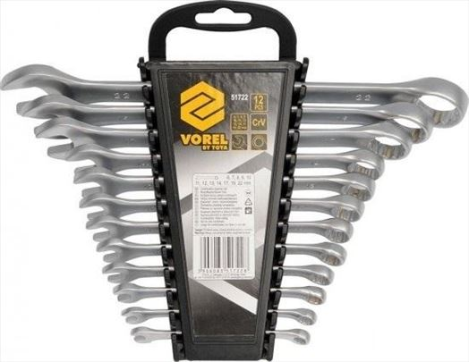Set ključevi okasto viljuskastih 6-22 mm