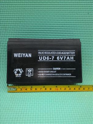 Akumulator baterija 6v 7ah