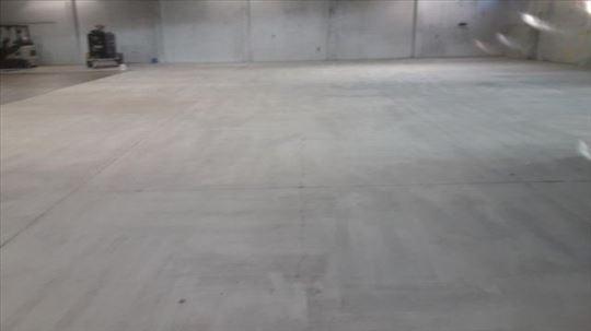 Brušenje Teraco,betonskih i podova od cigle