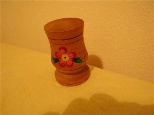 Drvena čašica za čačkalice